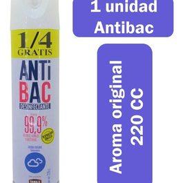 Desinfectante spray antibac 220cc
