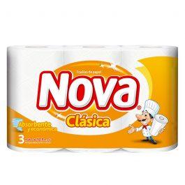 NOVA CLÁSICA 3 ROLLOS