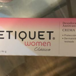 Desodorante ETIQUET crema women