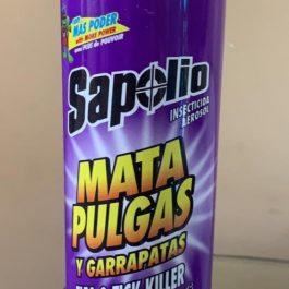 MATA PULGAS Y GARRAPATAS SAPOLIO