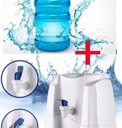 Pack Inicial 1 Bidon con agua + Dispensador