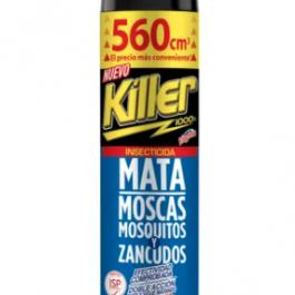 Killer Mata Moscas, Mosquitos y Zancudos 560cc