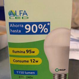 AMPOLLETA LED CONSUME 12W ILUMINA 95W
